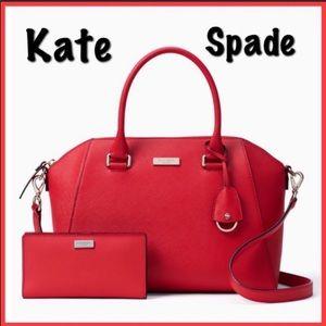 Kate Spade Satchel bag & wallet set